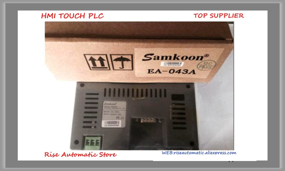 SA-4.3A HMI Touch Screen 4.3 inch 480*272 New in box high-quality tg465 mt2 4 3 inch xinje tg465 mt2 hmi touch screen new in box fast shipping