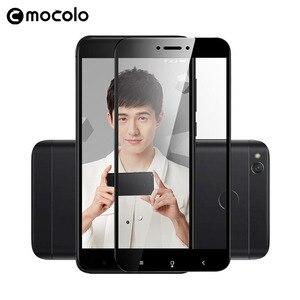Image 4 - Für Xiaomi Redmi 4X Screen Protector Original Mocolo Volle Abdeckung 9H Gehärtetem Glas film für Redmi 4X Glas Bildschirm protector