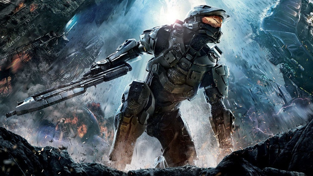 0604 Game Poster 40x60 Cm Halo 4 Video Game Print Op Thuis Decor Voor College Dorm-print Canvas Poster Interieur Poster