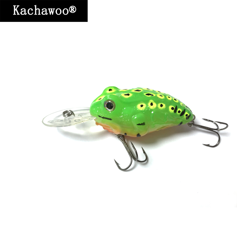 Crankbaits Fishing Lure Top Water Frog Led Light Spinner With Rattle and Battery Long Lip Hard Lure Minnow Artificial Bait Jerk artificial frog fishing lure bait yellow green black 5pcs