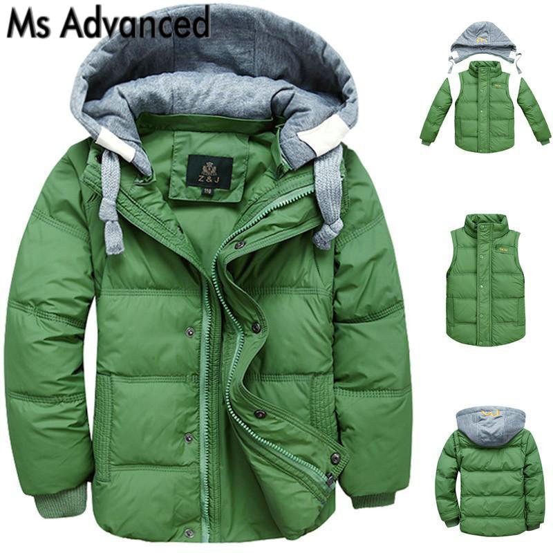 2017 winter children baby boys clothes down jacket coat fashion hooded thick warm coat boy winter kids clothes outwear for 4-13T