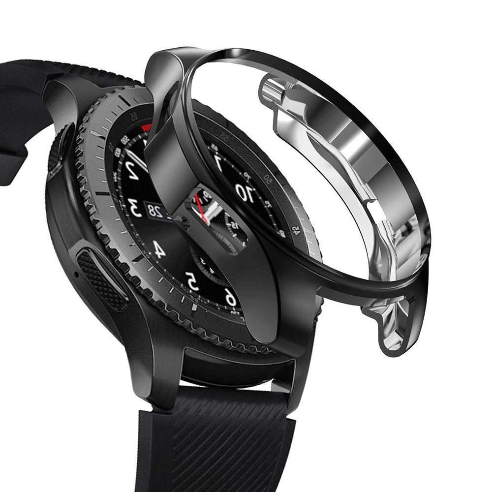 Чехол для Samsung Galaxy Watch 46 мм, чехол Gear S3 frontier bumper, мягкие Аксессуары для смарт-часов, защитный чехол 22 мм