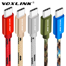 VOXLINK USB Type C Fast Charging usb c cable Type-c data Cord Charger  For Samsung S8 S9 Note 9 8 Xiaomi mi8 mi6 charger