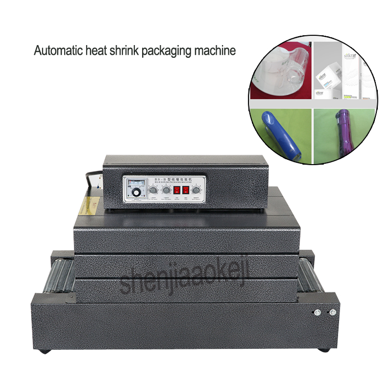 Double temperature control BS-400 Automatic heat shrink packaging machine Electricity laminator sealing machine 220v/380v 5500wDouble temperature control BS-400 Automatic heat shrink packaging machine Electricity laminator sealing machine 220v/380v 5500w