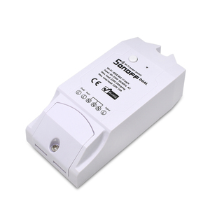 Image 3 - ITEAD SONOFF Dual 2CH 2 Gang Way 10A 220V 16A 3500W WiFi Wireless Smart Switch Light Remote Control DIY Timer Module Alexa Home
