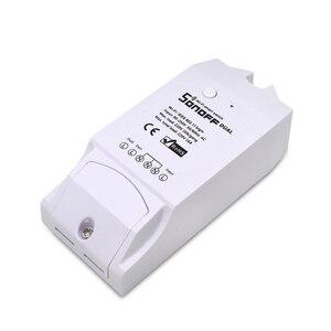 Image 3 - ITEAD SONOFF double 2CH 2 voies 10A 220V 16A 3500W WiFi sans fil interrupteur intelligent lumière télécommande bricolage minuterie Module Alexa maison