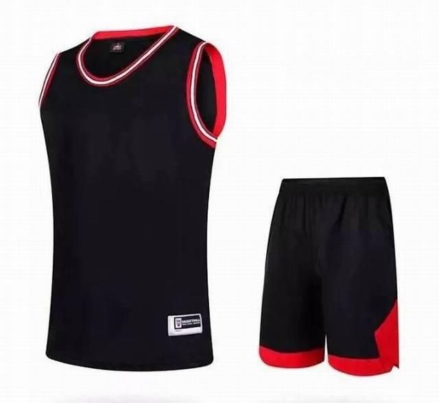 976e4dd75fa Cheap Throwback Basketball Jerseys CB Custom Mens Team Retro Blank Basketball  Uniform Stitched Red Black White Free Shipping