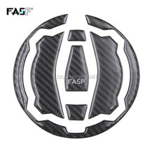 FASP 5D Profissional de fibra de carbono corrida tampa do tanque de combustível Da Motocicleta pad Decalque Adesivo para kawasaki Z900 Z650 NINJA650 Versys-X300