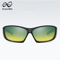 Zuan مي للرجال شمس الصيف سباق سائق مرآة النظارات المستقطبة المرأة الذكور نظارات النظارات الشمسية الذكور 5273