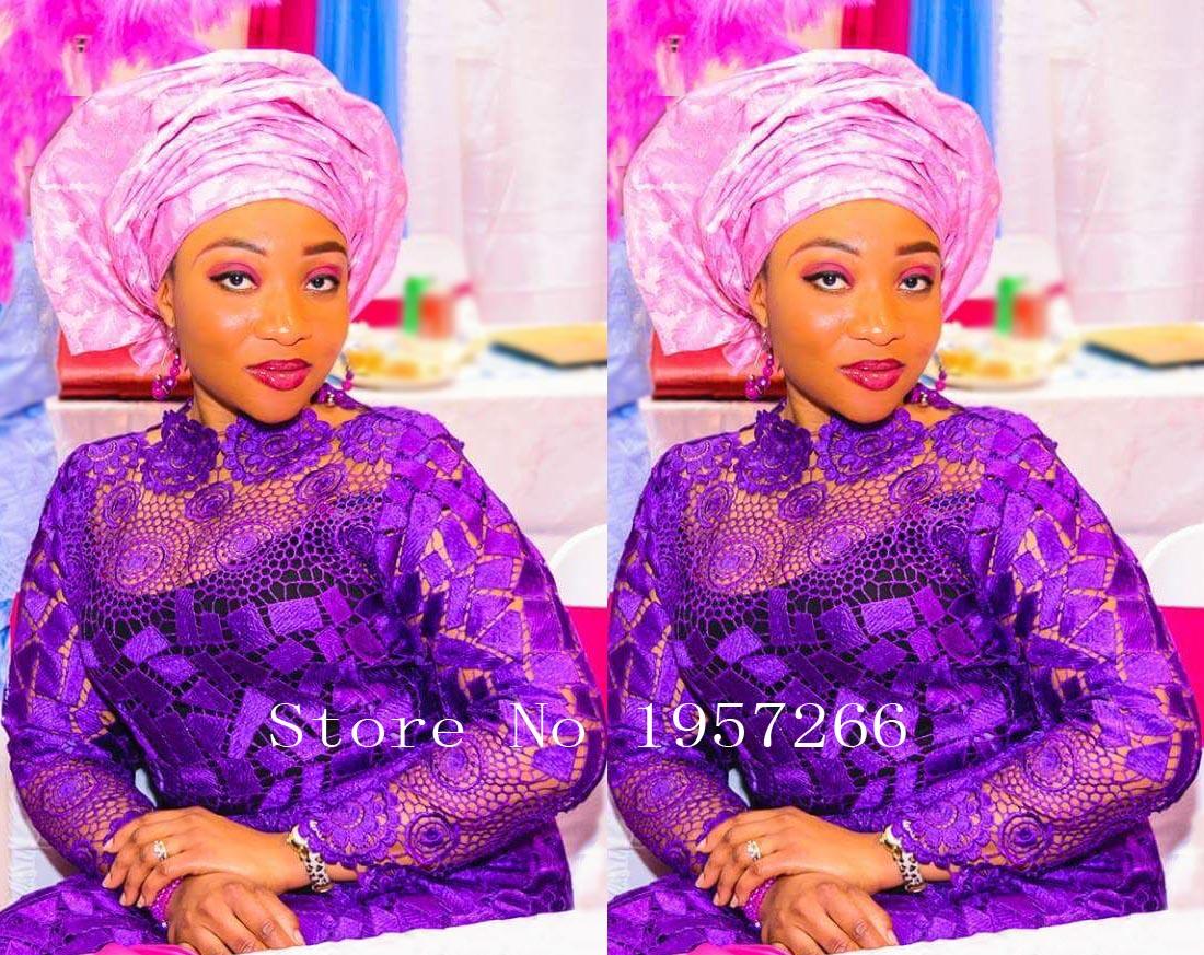 Français Net Dentelle Tissu 2016 Dernières africain guipure dentelle tissu  avec Broderie maille nigérian tulle dentelle tissu Pour Partie R665 dde132a1c3d0
