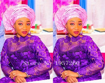 French Net Lace Fabric 2016 Latest african guipure lace fabric with Embroidery mesh nigerian tulle lace fabric For Party R665