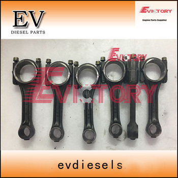 For Mitsubishi forklift engine rebuild S6S connecting rod con rod 6pcs