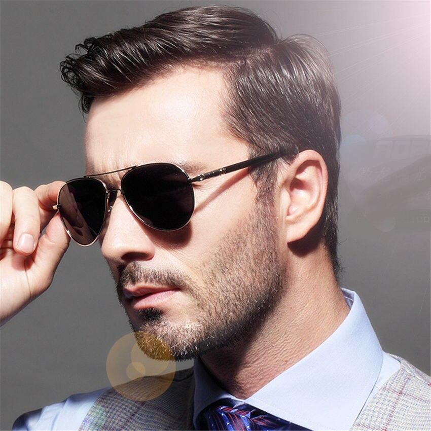 stylish frames for mens glasses  Aliexpress.com : Buy Aoron Brand Metal Sunglasses Men Polarized ...