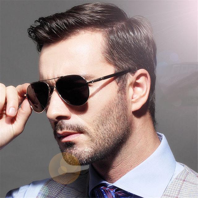 b2ddf9f2b2 YOOSKE Brand Metal Sunglasses Men Polarized Driving black male Sun Glasses  Mens Sunglasses Brand Designer masculine sunglasses
