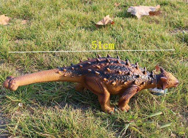 50 cm Großen Weichen Ankylosaurus Dinosaurio Spielzeug Dinosaurier Spielzeug Dinosaurier Action Figure Puppe Beste Geschenk für Jungen Kinder Geburtstag