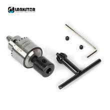 Lanxstar PCB CNC DIY дрель Электрический патрон адаптер мини 0,3-4 mmJTO набор Высокоточный Зажимной патрон диаметром 5 мм 775 патрон вала двигателя