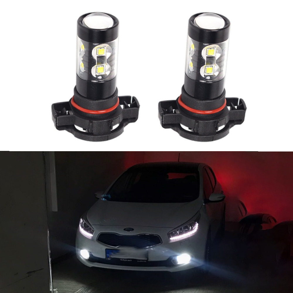 <font><b>5202</b></font> <font><b>H16</b></font> <font><b>LED</b></font> Bulb 880 881 PSX24W 9005 H3 H8 H11 Car Fog Lights DRL Lamp for Chevrolet Cruze Captiva Lacetti Aveo Orlando Spark image