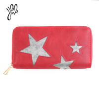 Wallet Female Famous Brand Long Zipper Women Wallets PU Leather Big Dollar Money Bag Lady Purse With Card Coin Pocket 500503