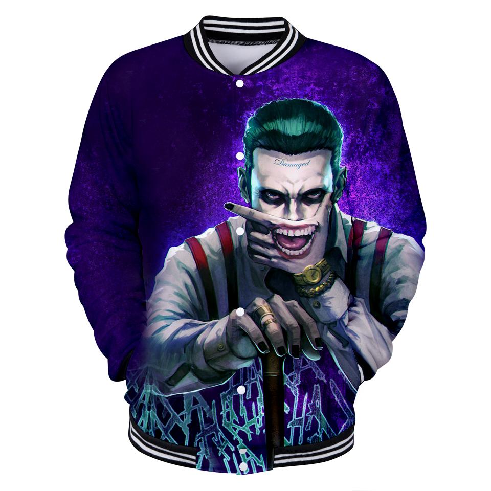 6e06781af617 New Suicide 3D Hoodie Sweatshirts Squad Joker Harley Quinn Printed  Men Women Hood Pullovers Hip Hop Streetwear Jacket Dropship