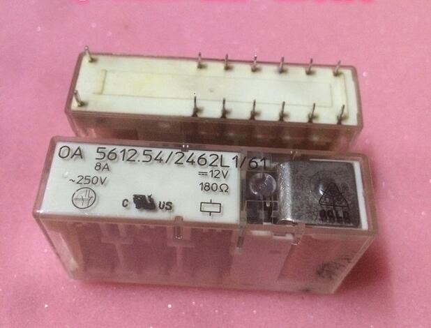 relay OA 5612.54/2462L1/61 12V OA5612.54/2462L1/61 OA-5612.54/2462L1/61 OA5612.542462L161 12VDC DC12V 12V DIP10 1pcs/lot oa html