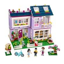 Emma's Creative Studio DIY Bricks Friends Series Building Blocks Set 110 Pcs Toys For Girls Children Compatible with Lepin