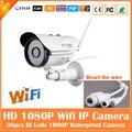 1080 p bala ip câmera 2.0mp wifi motion detection webcam segurança vigilância cctv ao ar livre à prova d' água mini branco freeshipping