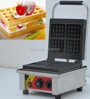 popular 110v 220v electric commercial small pancake belgian waffle maker