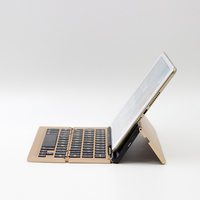 F18 Universal IOS Android Windows Mini Three Foldable Wireless Bluetooth Keyboard For IPhone IPad MacBook Mobile