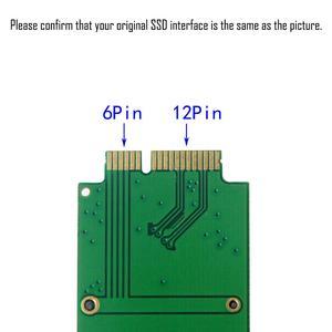 Image 4 - 256GB SSD Para 2010 2011 Macbook Air Apple A1369 A1370 MC503 MC504 MC965 MC966 MC505 MC506 MC968 MC969 Drive de Estado Sólido