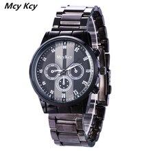 MCY KCY Moda Casual Para Hombre Relojes de Marca de Lujo de Alta Calidad Reloj de Cuarzo de Los Hombres A Prueba de agua Reloj de Pulsera Relogios masculino WH6435