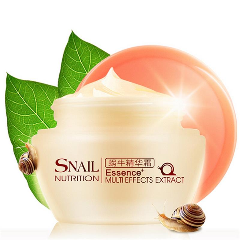 Brand Natural Snail Nutrition Essence Extract Face Cream 50g Moisturizing Whitening Oil Control Acne Treatment 11