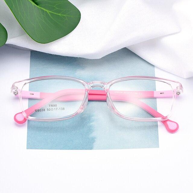 55fd54bc5f BAONONG Trendy Ultralight TR90 Full Rim Optical Glasses Frames For Girls Prescription  Eyeglasses Boys Spectacles Frame