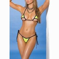 String Micro Bikini Triangle Brazilian Mini Bikinis Set 1