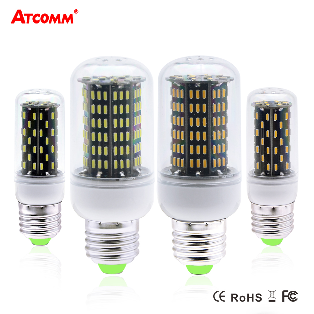 Ampoule Led E27 Dimmable Us 2 44 30 Off 5w 10w Ampoule Led E27 Lamp Dimmable Smart Ic E14 Led Diode Bulbs 220v Smd 4014 76 158 Leds High Lumen No Flicker Bombillas In Led