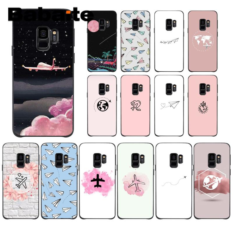 Phone Bags & Cases Cellphones & Telecommunications Hameinuo Space Moon Aircraft Air Plane Love Night Phone Case Cover For Samsung Galaxy A3 A310 A5 A510 A7 A8 A9 2016 2017 2018