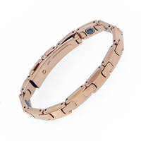Top Quality Fashion Jewelry For Women Tungsten Pure Germanium Female Energy Bracelet Rose Gold Health Bracelets