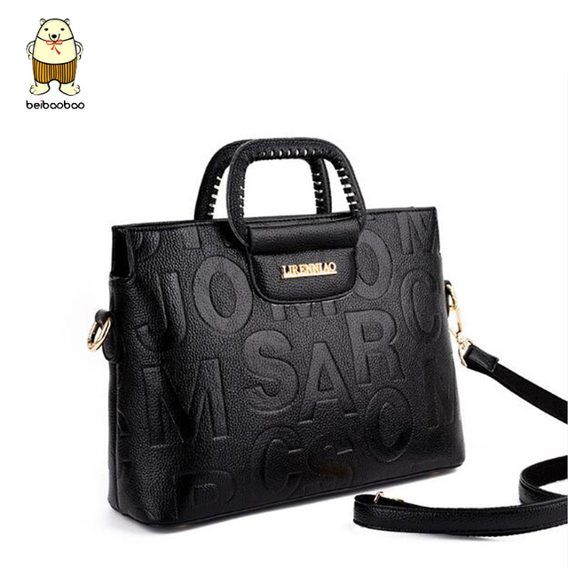 273a9d5903c Beibaobao Women Strips Design Leather Pu Handbag Bags For Women 2018 Ladies  Shoulder Bag Female Luxury