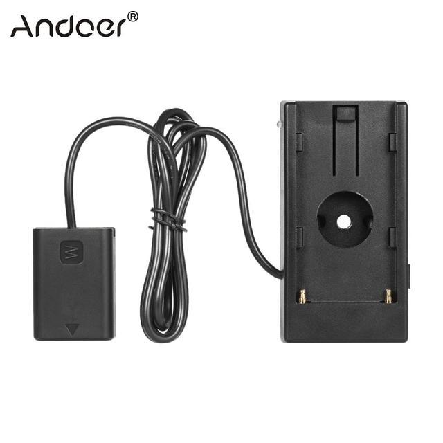 NP F970 Andoer do NP FW50 akumulator płyta montażowa do Sony a7/a7R/a7S/a7II/a3000/a5000/a5100/a6000/a6300/a7s II/a7m II
