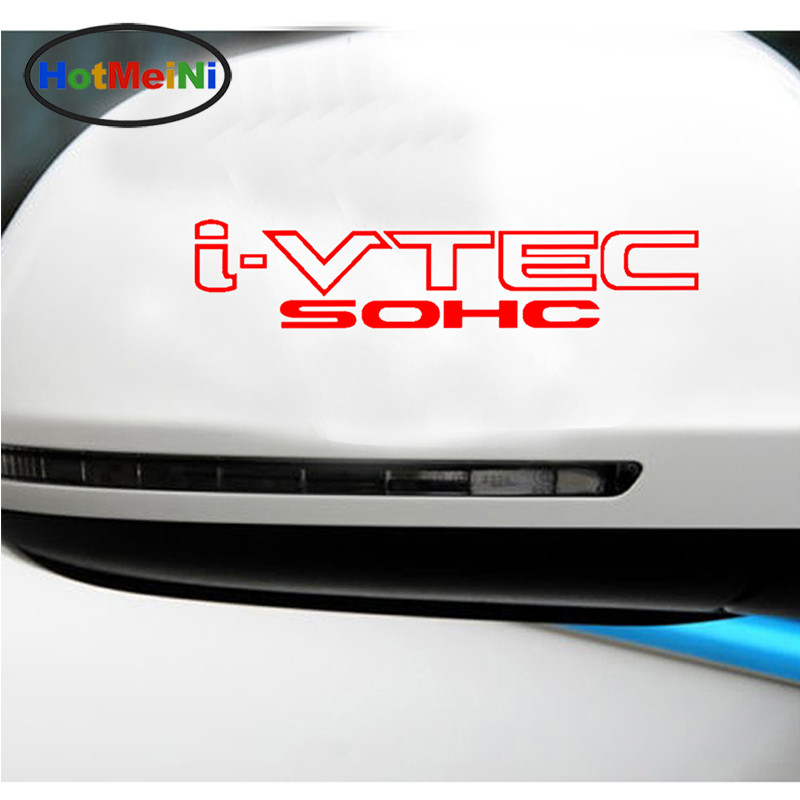 HotMeiNi 23,5x5 см 2x I-vtec Sohc Ivtec оконная наклейка для грузовика автомобиля Стикеры черно-белый/Щепка 13 Цветов