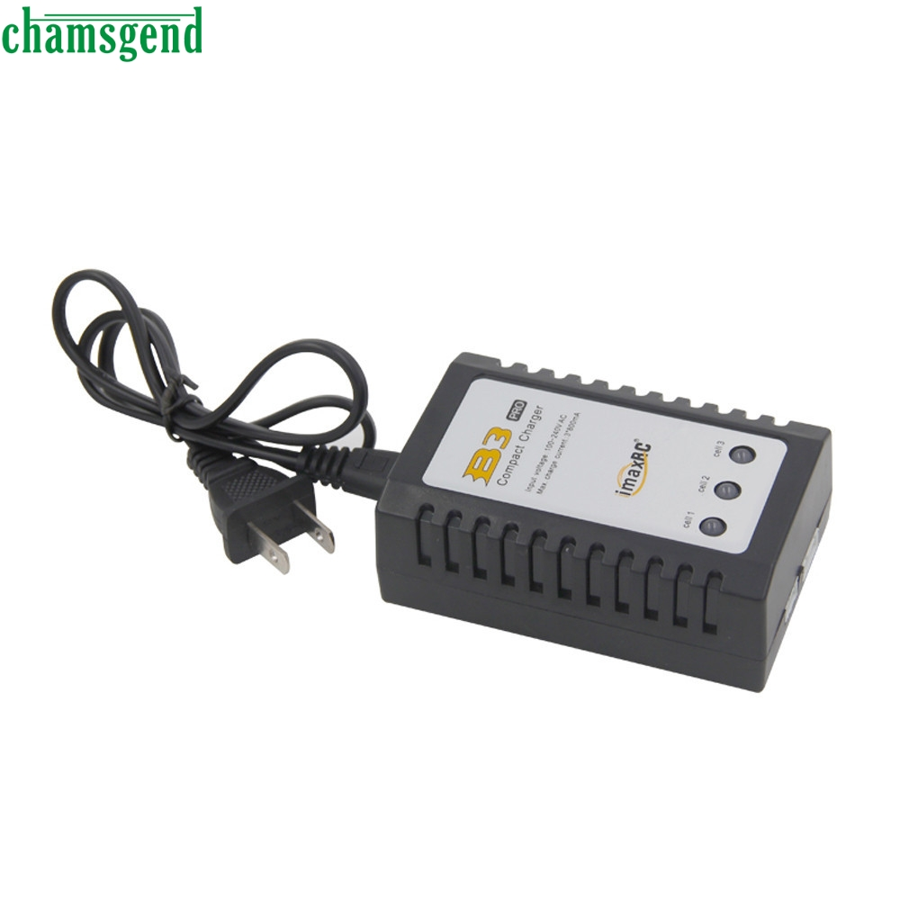Voberry Shopping Park Co.,Ltd. CHAMSGEND high quality RC B3 Pro Compact 2S 3S Lipo Balance Battery Charger For RC Helicopter S30