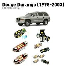 Led interior lights For Dodge durango 1998-2003  14pc Led Lights For Cars lighting kit automotive bulbs Canbus 2шт грузовик кровать хранения поле крышкой подъема подставки для 1998 2003 dodge durango 6904 55350852aa