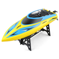 JJRC S2 Remote Control Boat RC Water Yacht Shark Pattern Yellow