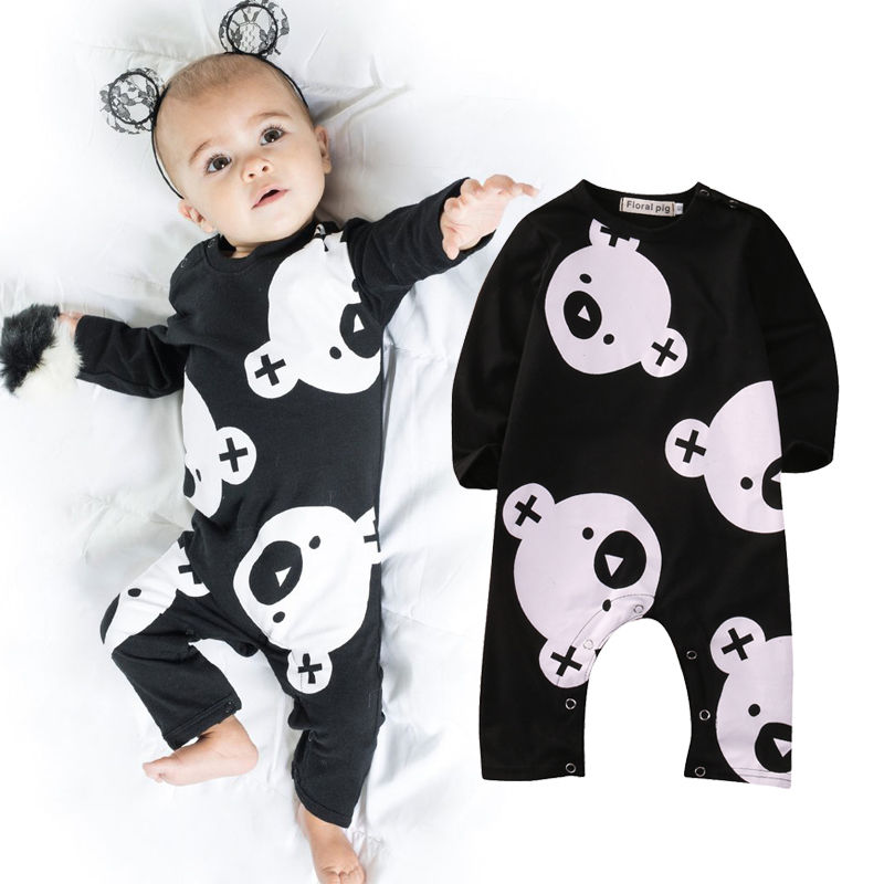 Cotton Newborn Infant Baby Boys Girls Clothes Rompers Long Sleeve Cotton Jumpsuit Clothing Baby Boy Outfits newborn baby girls rompers 100% cotton long sleeve angel wings leisure body suit clothing toddler jumpsuit infant boys clothes
