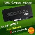 Бесплатный shippingFor Hp 538692-351 538692-541 580686-001 HSTNN-E02C OB0L UB0L VG586AA Оригинальный Аккумулятор Для ноутбука Hp dm3 dm3-1000