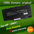 Free shippingFor Hp 538692-351 538692-541 580686-001 HSTNN-E02C OB0L UB0L VG586AA Original laptop Battery For Hp dm3 dm3-1000