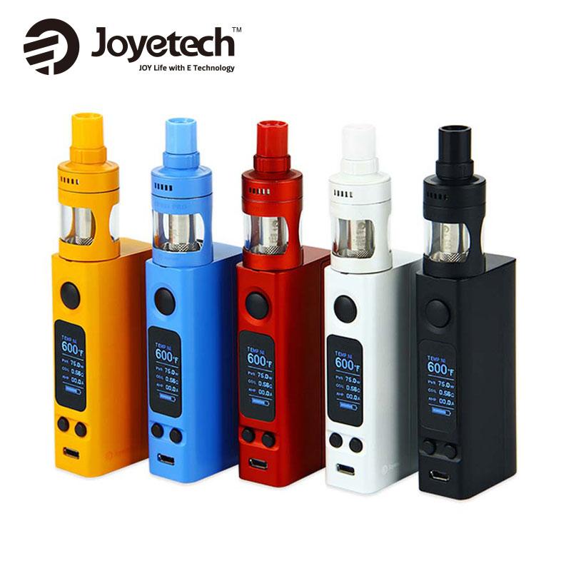 100% Original 75 watt Joyetech eVic VTwo Mini Cubis Pro Kit 4 ml CUBIS Pro Tank eVic Elektronische Zigarette mit Vtwo Mini Box Mod 75 Watt