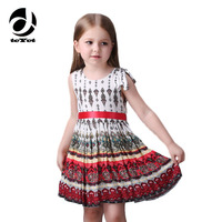 Milan Creations Printing Girls Dresses Summer 2016 Princess Party Girl Dress Next Baby Girl Clothes For