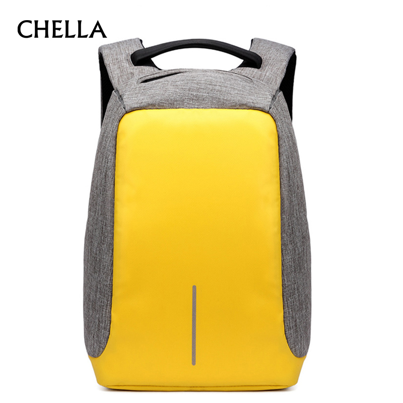 Men USB Charge Backpack Anti-Theft Laptop Backpacks Large Capacity Fashion School Bags Boys Teenager Casual Rucksack Bag BP0165 school bags for teenager boys girls school backpacks high quality dropproof nylon men business backpack slim laptop backpack