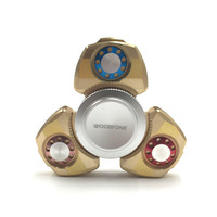 2017 New Style Tri Spinner Fidget Toy Metal EDC Hand Spinner For Autism And ADHD Anxiety