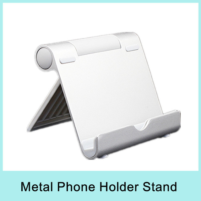 Aluminum Stand Holder Metal Tablet Mount for iPhone 5S for Mobile Phone Cellphone Smartphone Ebook MID Universal Big Discount